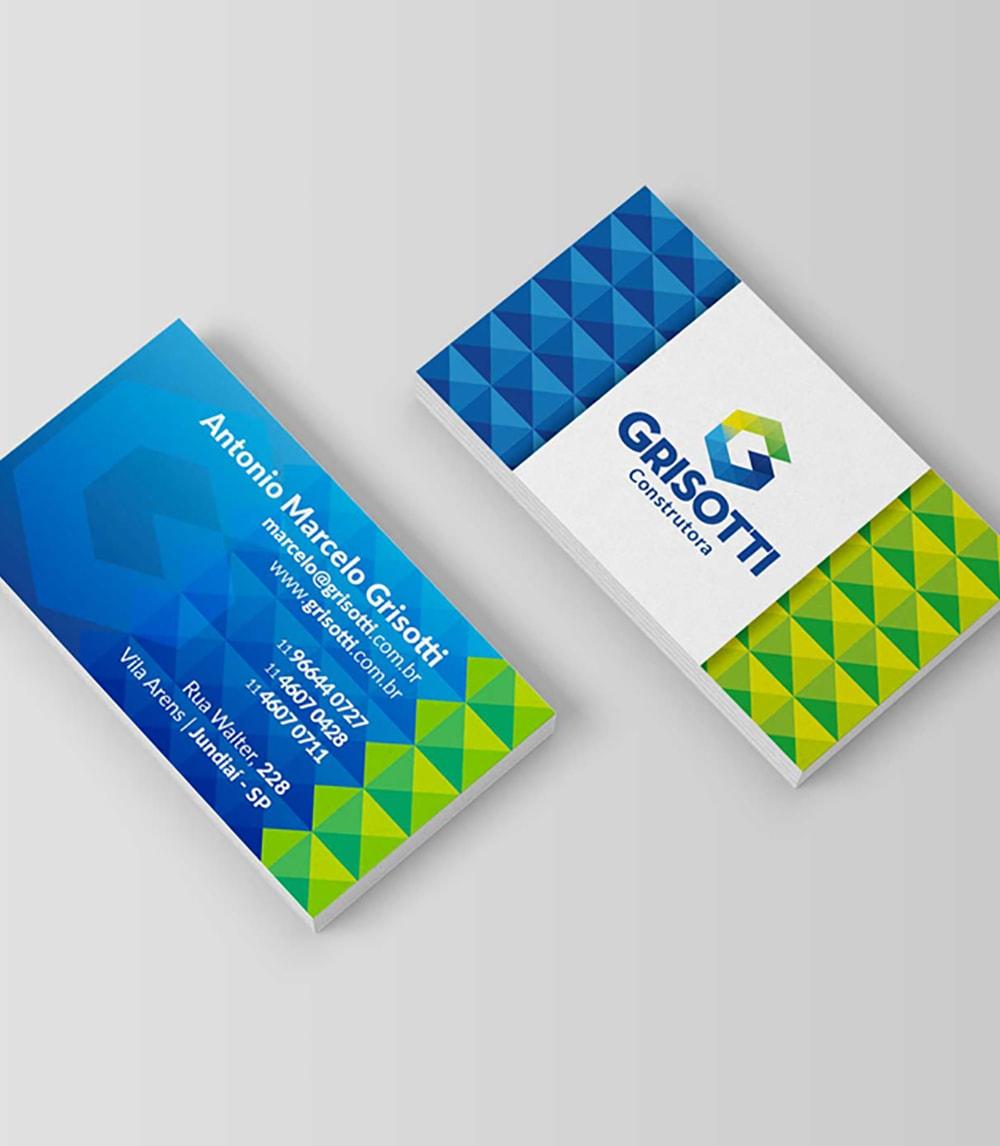 cartão de visita grisotti